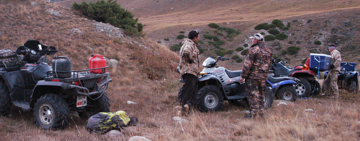 Quad tour to the Kegety Pass and the Konortchok Canyons